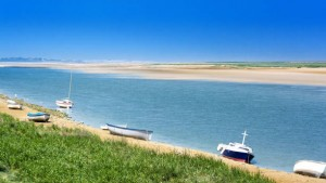 The Bay of Somme in the North of France.